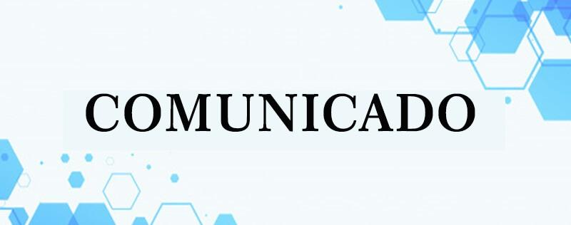 Comunicado de Adiamento