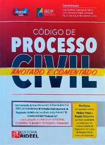 Código de Processo Civil Anotado e Comentado - 1ª edição