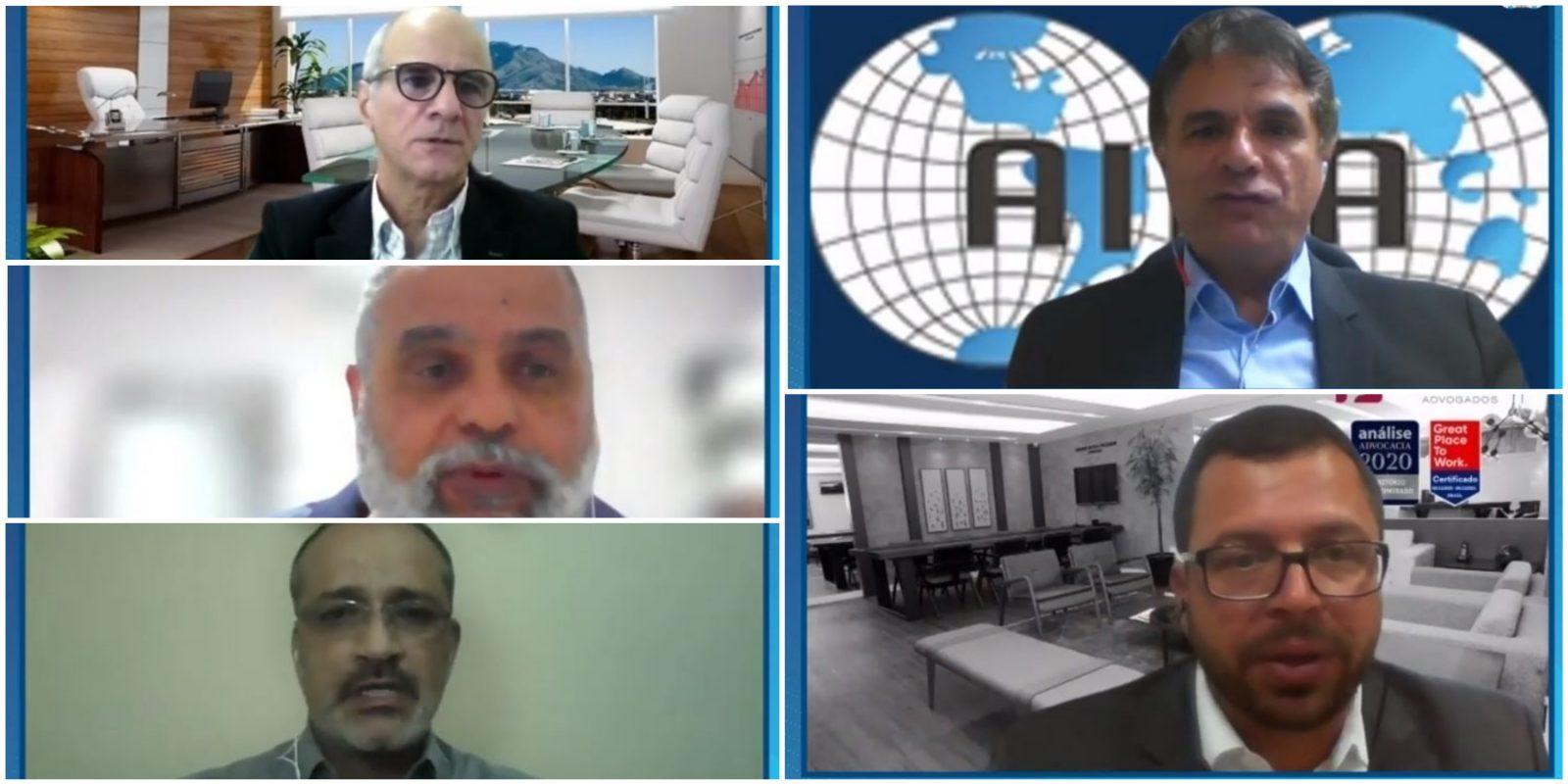 Read more about the article Gestão de riscos no transporte de produtos perigosos é tema da reunião conjunta do GNTs de Transporte e Ambiental da AIDA